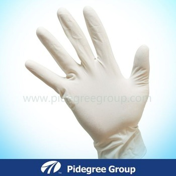 Food Grade Powder Free Latex Gloves Wholesale