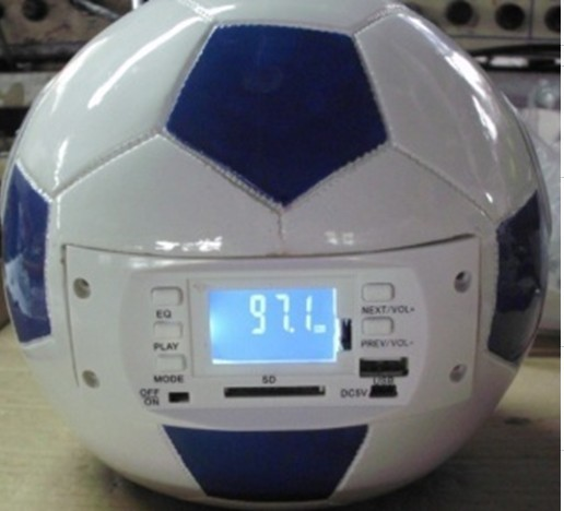 Football Speaker With Fm And Sd Usb