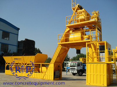 Footless Concrete Batching Plant