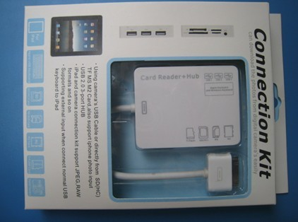 For Ipad Multi Function Usb 2 0 Sd Card Reader Hub