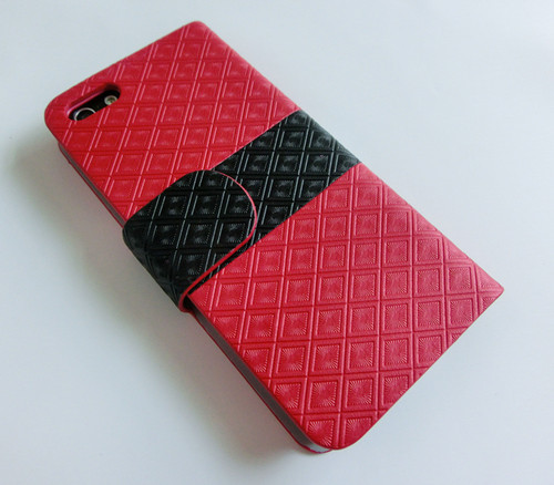 For Iphone 5 Stylish Design Pu Leather Case