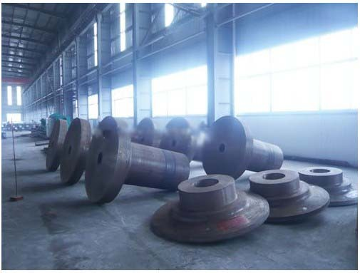 Forged Shaft And Parts For Wind Power Generation