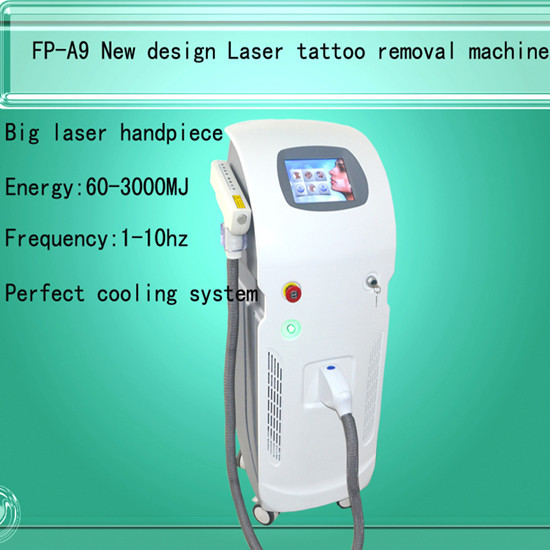 Fp Laser A9 Q Switched Nd Yag Tattoo Removal Machine