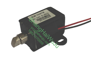Frame Type Solenoid Used In The Electronic Door Locks