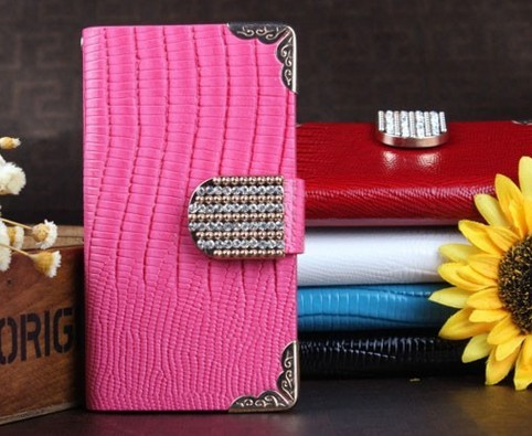 Free Shipping Wholesale Cellphone Covers Samsung Galaxy 7100 Wallet Case Le