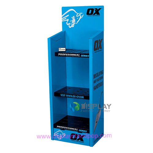 Free Standing Supermarket Cardboard Displays With Custom Design