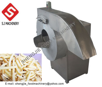 French Fry Chips Machine Carrot Shreds Cutting