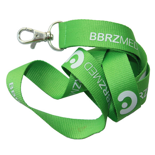 Fresh Green Work Id Card Holder Lanyard Promotional