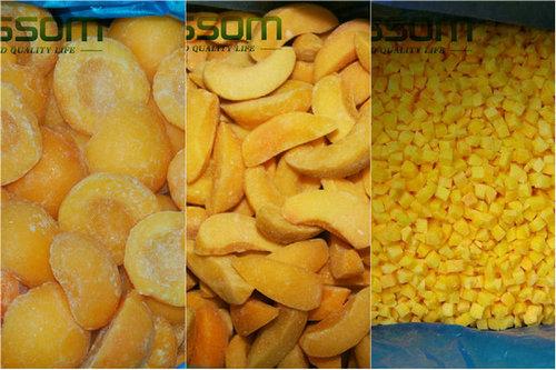 Frozen Fruit Iqf Yellow Peach