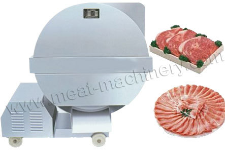 Meat Processing Machines Frozen Slicer