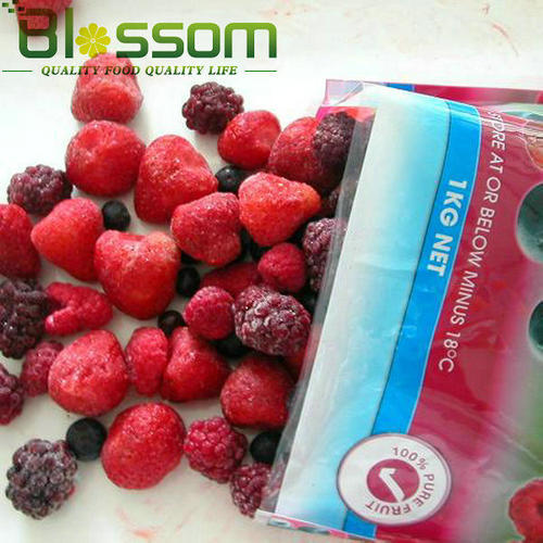 Frozen Mixed Fruit Iqf Mix Berries Raspberry Strawberry Blueberry Blackberr