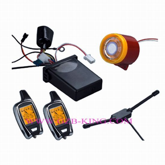 Fsk 5000m Long Range Two Way Lcd Pager Motorcycle Alarm