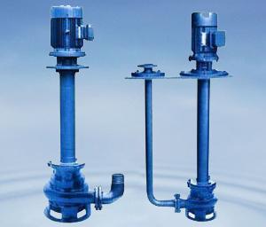 Fsp Vertical Centrifugal Slurry Pumps Submerged In Liquid To Work