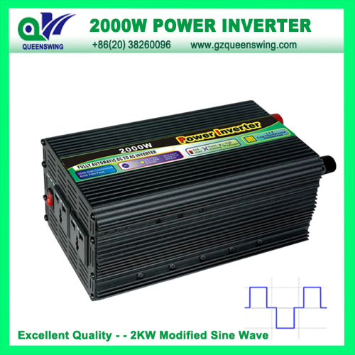 Full 2000w Modified Sine Wave Power Inverter Without Charger