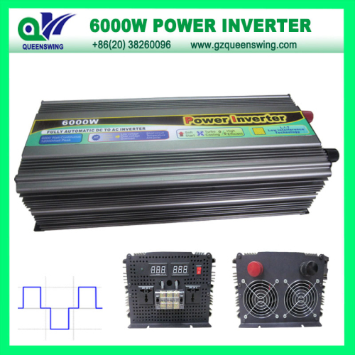 Full 6000w Modified Sine Wave Power Inverter Without Charger