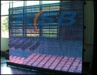 Full Color Led Display Curtain