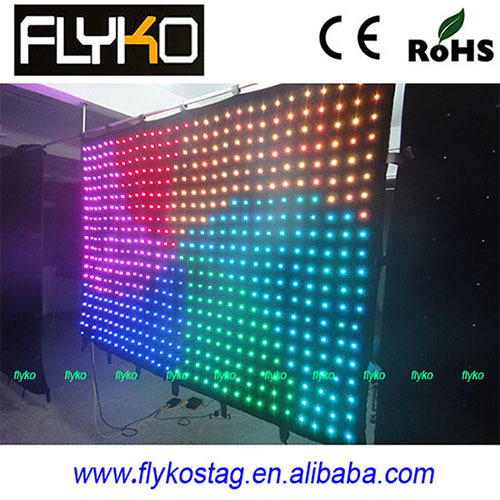 Full Color Led Video Curtain