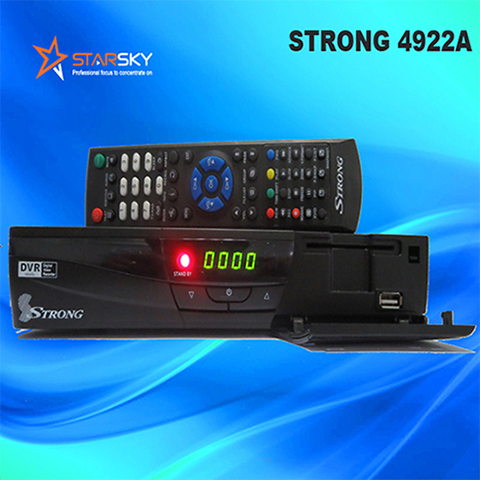 Full Hd Satellite Decoder Strong 4922a