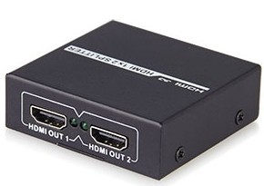Full Hdmi 1 4 1x2 Splitter With Hdcp 8kv Esd Protection