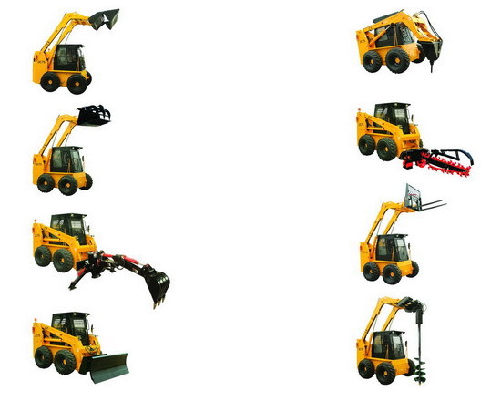Full Line Of Skid Steer Loader Attachments