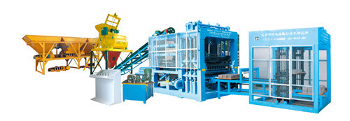 Fully Automatic Brick Production Line Multi Purpose Hollow Paving Block Mac