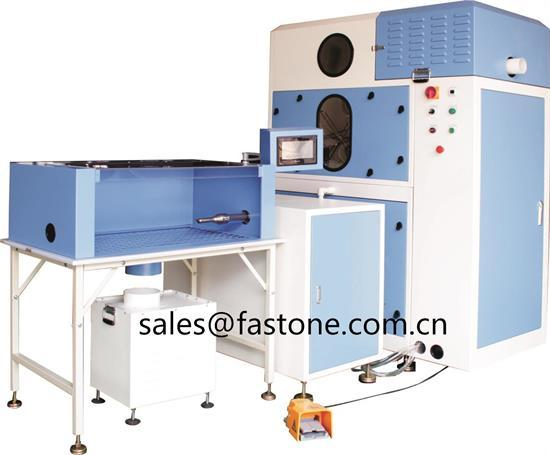 Fully Automatic Mini Down Filling Machine For Jacket Garment Manufacture