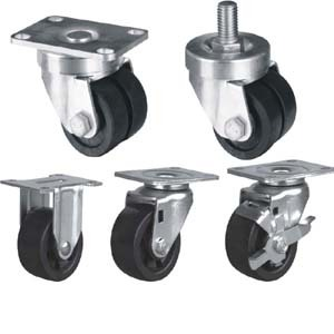 Furniture Caster Wheel Low Profile Casters