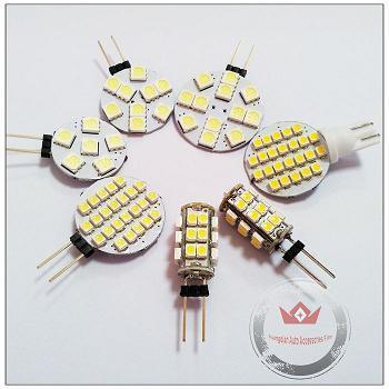 G4 Socket 5050 1210 Auto Led Lamps Car Interior Light