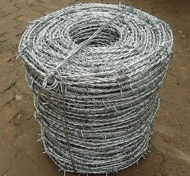 Galvanized Barbed Wire Iowa Motto Bwg14 14 Bwg16 16 200m 250m 400m 500m For