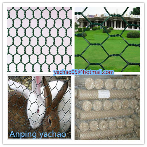 Galvanized Hot Dipped Or Electro And Pvc Coated Hexagonal Wire Mesh