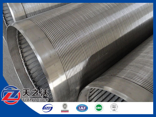 Galvanized Steel Johson Water Well Screen Filter Pipe