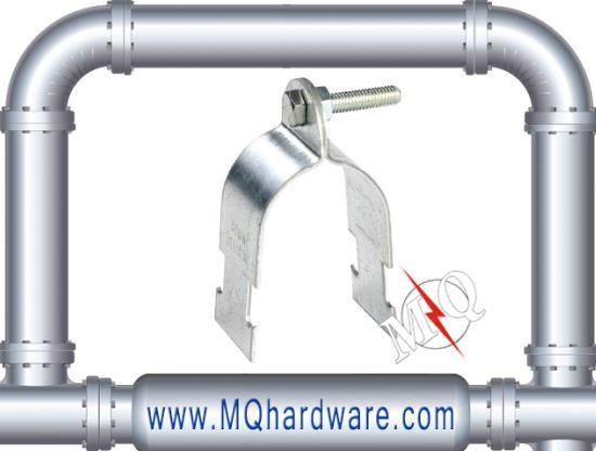 Galvanized Steel Unistrut C Channel Clamp For Pipes