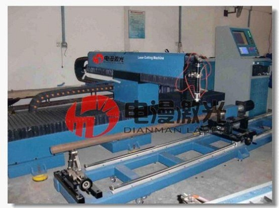 Gantry Type Metal Laser Cutting Machine Dm Xy Yag300