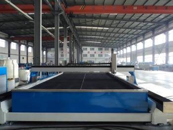 Gantry Type Waterjet Cutting Machine Rubber Military Arms Plastic Glass