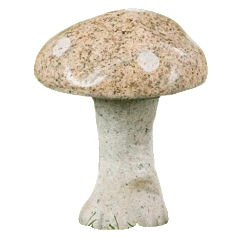 Garden Decoration Stone Mushroom