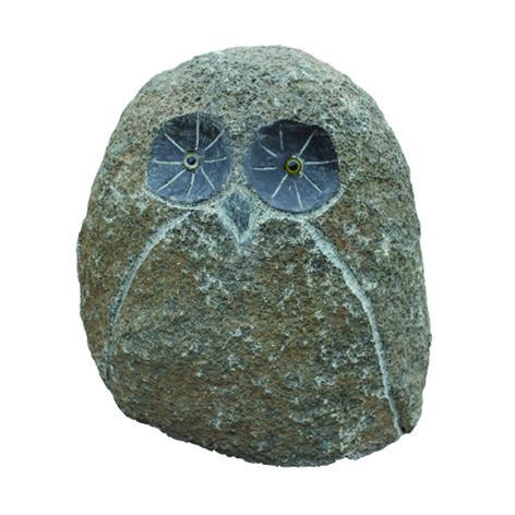 Garden Owl Stone Statue