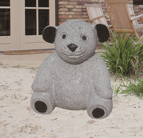 Garden Stone Bear Statue