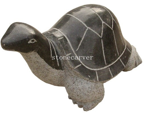 Garden Stone Tortoise Statue