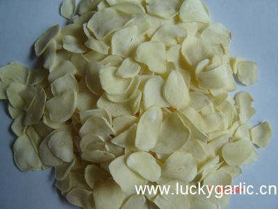 Garlic Flakes Dehydrated Dry
