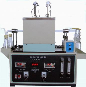 Gd 387 Dark Petroleum Products Sulphur Content Tester Tubular Oven Method