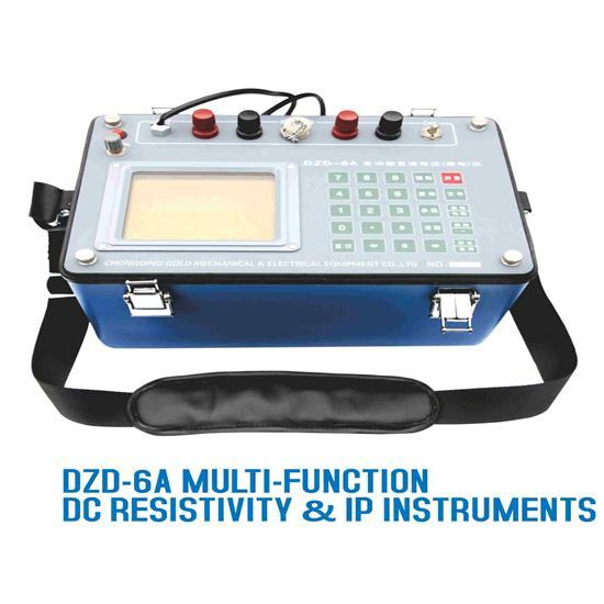 Geological Instrument Dzd 6a Multi Function Dc Resistivity Ip Instruments