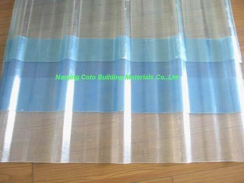 Gfrp Transparent Corrugated Sheet