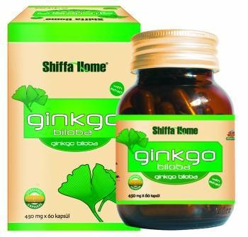 Ginkgo Bilobo Natural Herbal Capsule For A Healthy Mind Strong Memory 450 M