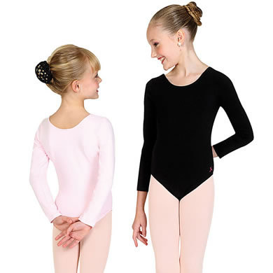 Girl S Long Sleeve Ballet Leotard Dance Costume