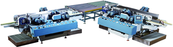Glass Double Edge Grinding Machine Assembly Line