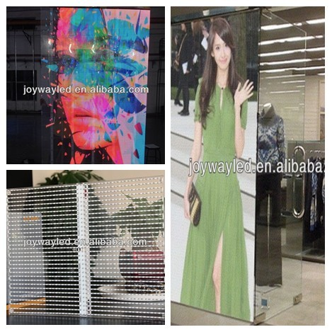 Glass Window Transparency Wall Led Screen