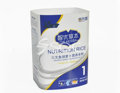 Glossy Effect Film Of Rice Containers Food