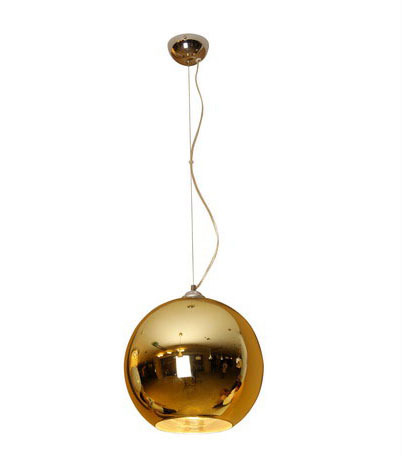 Golden Globe Glass Pendant Light P3015 300