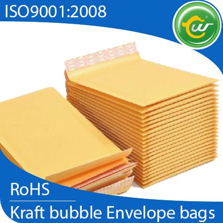 Golden Kraft Bubble Envelope