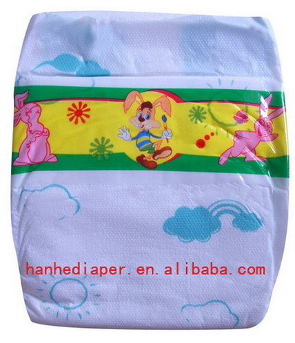 Good Absorb Baby Diapers With Pe Tape